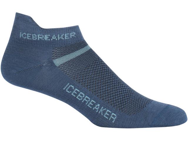 Icebreaker W's Multisport Ultra Light Micro Socks prussian blue/waterfall